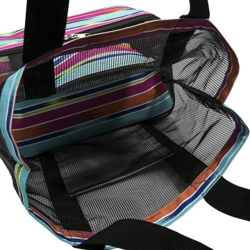 Isolierte Strand Lunch Cooler Soft Pack Bag