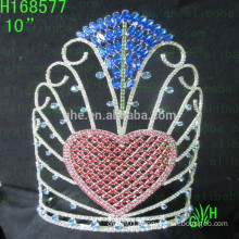 Pageant Crowns beauty heart tiara valentine's day Pageant Crowns beauty heart tiara