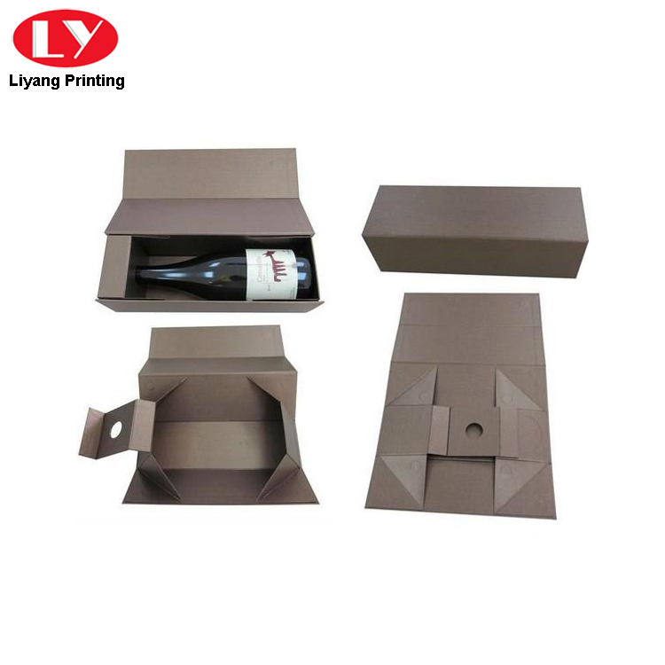 Foldable Wine Box