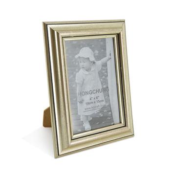 Handmade Classic Golden PS Marco de fotos para Home Deco