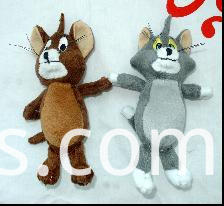 cartoon education plush