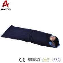 Förderung-kundenspezifischer Anti-Pilling-Polarfleece-Schlafsack für kampierendes im Freien