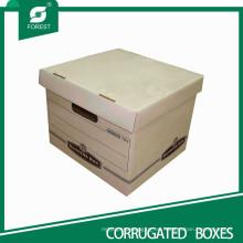 Caja de archivo promocional sólida con caja de tapa