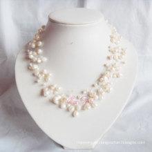 Multi Strands Süßwasser Perle Halskette