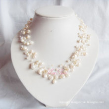 Multi Strands Freshwater Pearl Necklace