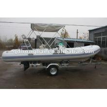 barco inflável rígido