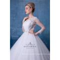 Robe de mariée de grande taille à manches longues robe de bal robe de mariée Chine