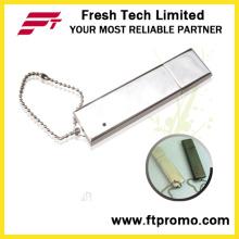Metal pequeño flash USB unidad (d303)