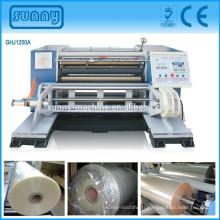machine de rebobinage feuille aluminium