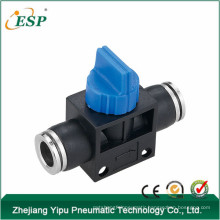 HVFFM zhejiang yipu valve black body with brass button air hose accessories