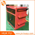 Movable 2 Lockable Doors and Drawers Sheet Metal Garage Tool Chest
