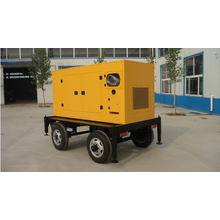 4 Wheel Trailor Mobile 160KW Generator 6CTAA8.3-G2 Engine with 60km/h and Soundproof and Rainproof
