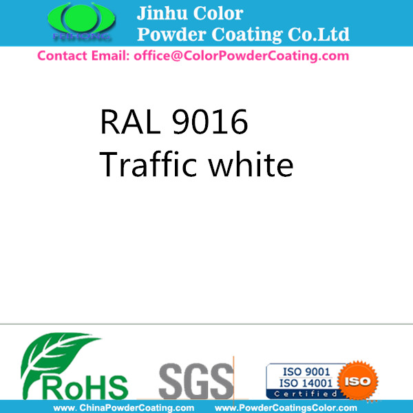 RAL 9016 Powder Coating White Powder Cat