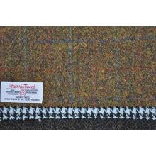 tecidos de mão harris tweed cashmere sobretudo