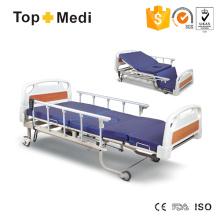 Topmedi Cama de hospital eléctrica de cinco funciones con el tocador de la comodidad