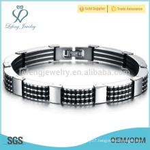 Fashion long chain bracelet,cleaning silver bracelet