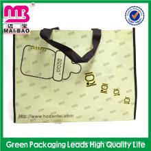 Novo design Alibaba china personalizado impresso laminado dobrável não tecido saco fabricante