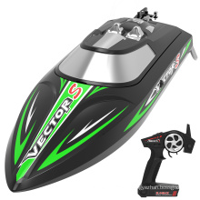 VOLANTEXRC High Speed  Brushless RC Boat with Self-Righting & Reverse Function for Pool & Lake (797-4 Brushless)