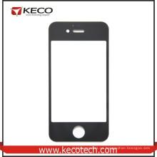 Venta al por mayor de China para el negro de la lente de cristal de la pantalla del iphone 4s