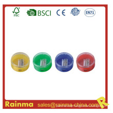 Colorful Rounded Pencil Sharpener for Office