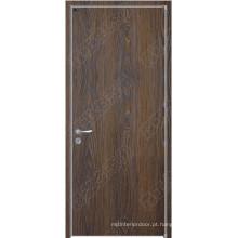 Vários tipos de portas de madeira do quarto, Vários estilos de portas de madeira HDF, Vários estilos de cores de pintura Portas de madeira