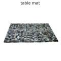 Vaisselle Accessoire Black MOP shell table mat