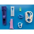 Lâmina de plástico para mangueira de aperto médica Robert Clamp Clips