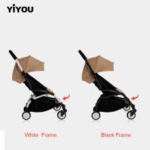 Carrinho de passeio infante infantil Yiyou com assento de carro