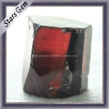 Materia prima de la piedra preciosa del zirconia cúbico sintética de la rhodorita