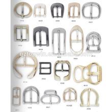 Glitter D boucle de broche en forme et boucle de ceinture en alliage de zinc / boucle en métal avec prix d'usine