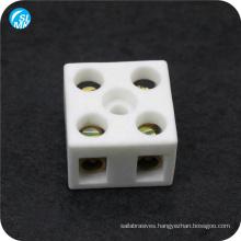 ceramic electrical cable connector white steatite ceramic terminal block