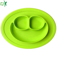 Silicone Plate for Baby Cute Smile