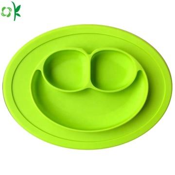 Силиконовая тарелка для детской милой улыбки