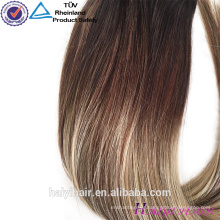 Most fashional style 8A grade large stock competitive price 200g brazilian clip in hair
