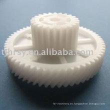 Engranajes especiales de plástico dúplex