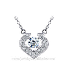 fashion pendant silver jewelry for ladies with high quality