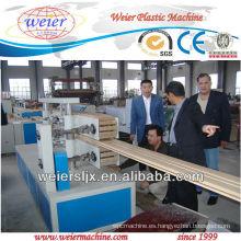 la máquina profesional del perfil de madera del wpc del piso más profesional
