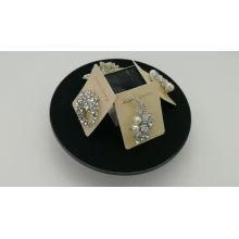 Ladies Fashion  korean Alloy Silk Ribbon Pin Crystal Flower Pearl Lapel Pins Brooch
