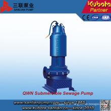 Sistema de corte tipo Qwn Bomba de esgoto submerso