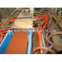 Perfil plástico de madeira de PE / PP que faz a máquina