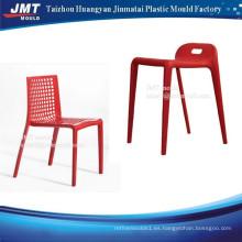 molde de plástico por inyección duradera por encargo fabricante de molde de silla de plástico inyección