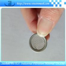 Disque de filtre en acier inoxydable avec diverses spécifications