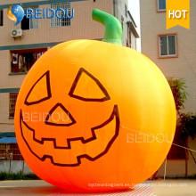 Inflable Halloween gato espíritu casa fantasma calabaza inflable para la decoración