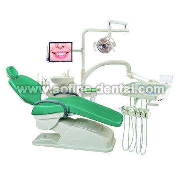 Echtem Leder Dental Unit Stuhl