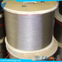 ASTM A582 AISI321 fio de solda de aço inoxidável brilhante e decapado