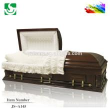 JS-A145 meilleur prix bonne qualité cercueils: fabriqué en Chine