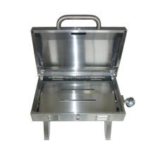 Gril à gaz portatif de table en acier inoxydable