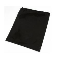 белый логотип печать оптовая продажа сплетенный мешок drawstring