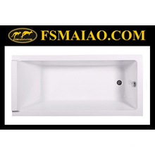 De estilo simple Drop-in bañera de acrílico (ba-8806)