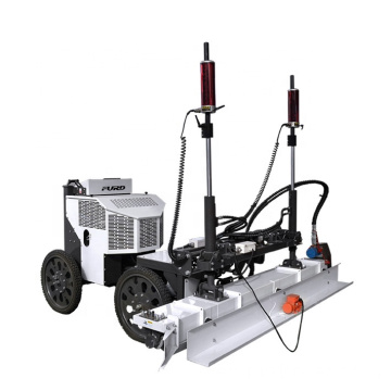 Ride-on Concrete Laser Screed Machine With Vibration Auger